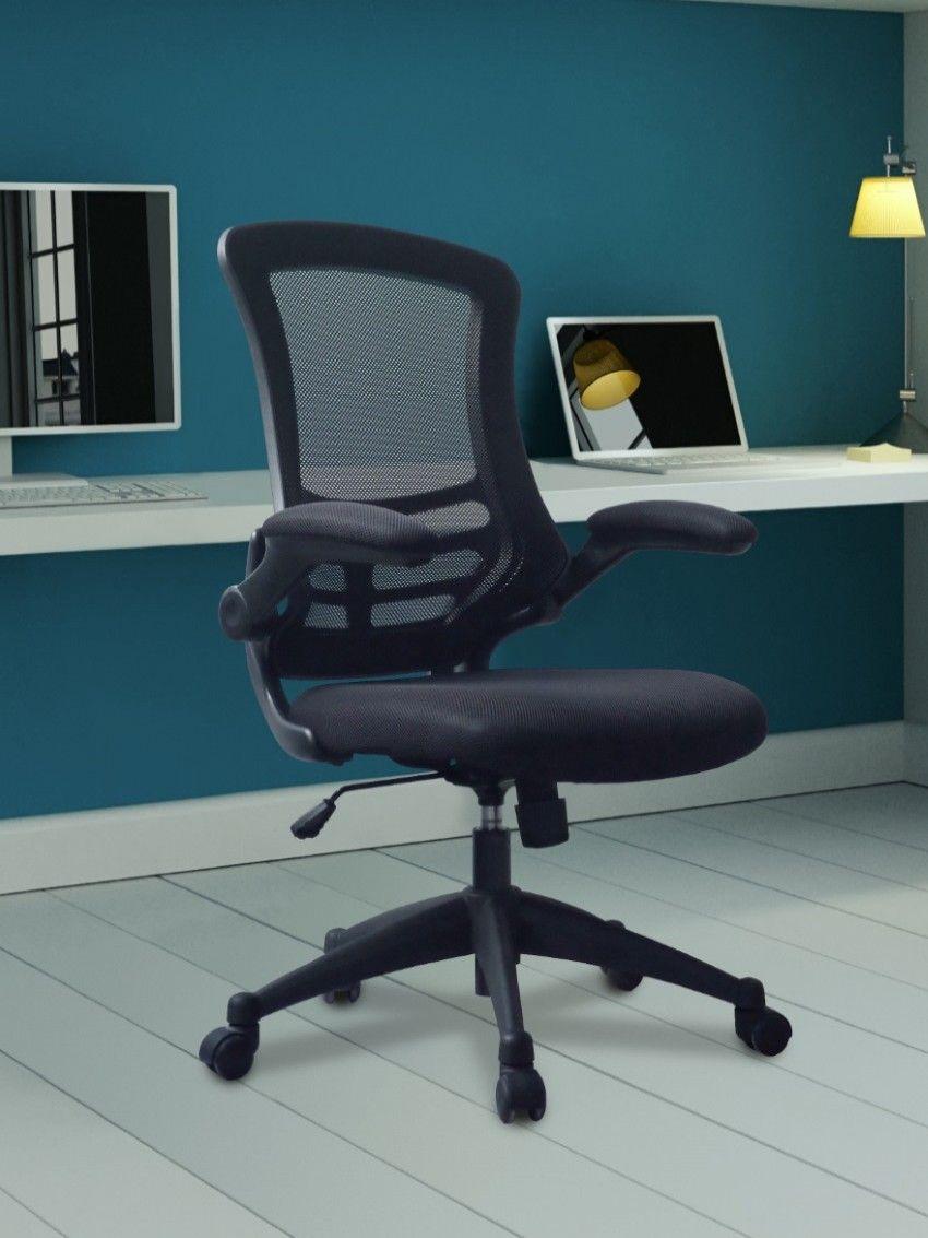 Eliza tinsley luna black mesh office chair bcml1302bk in