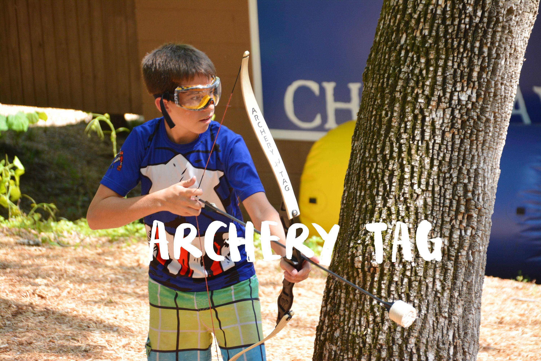 Archery Tag Is A Kamper Favorite At K Seven Archery Tag Archery Tags