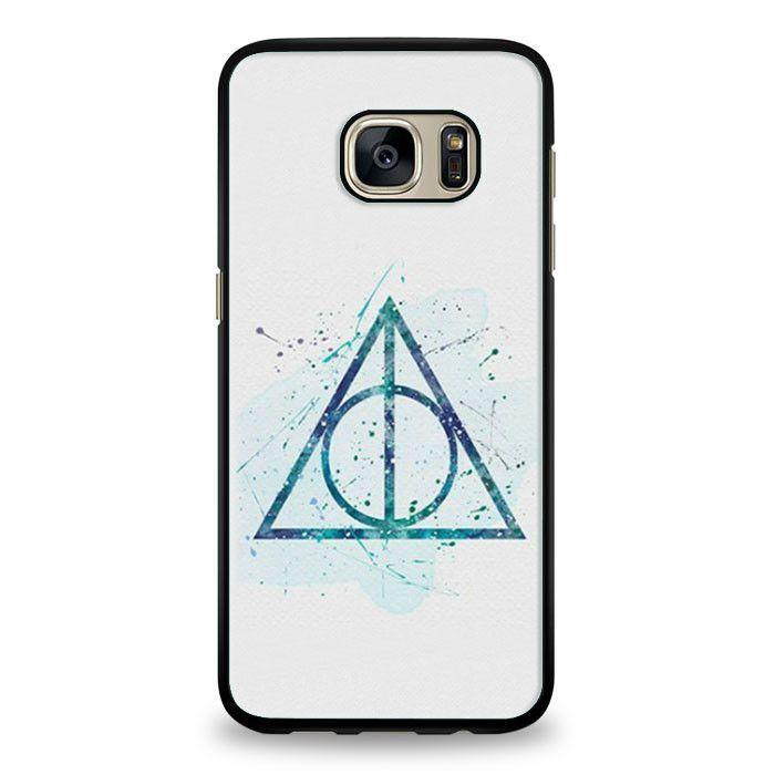 Harry Potter Deathly Hallows Symbol Samsung Galaxy S7 Edge