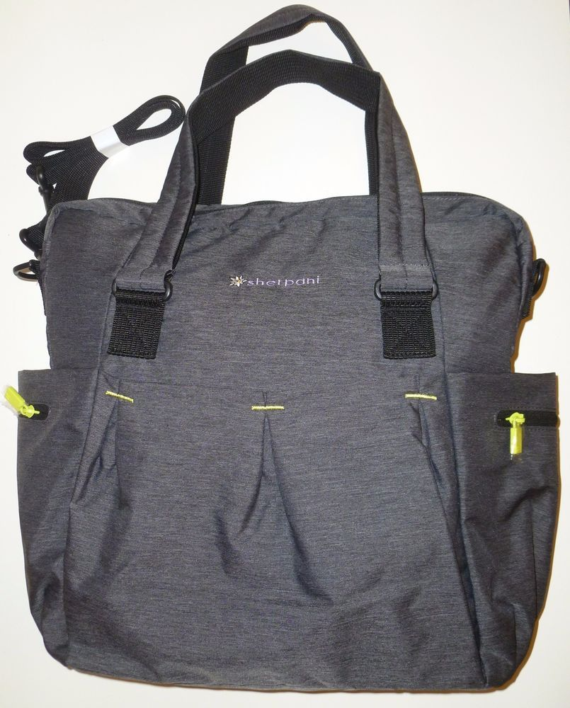 SHERPANI Wisdom Yoga Fitness Tote Bag Grey Womens Gym Padded Shoulder Strap   Sherpani  YogaToteGymBag 26c2cff57