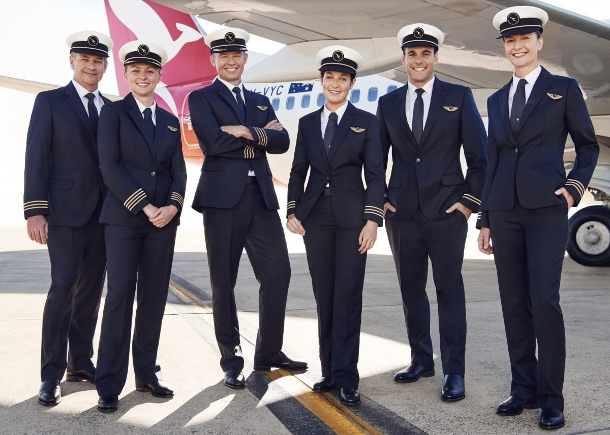 Interesting facts about qantas airline pilots new uniform