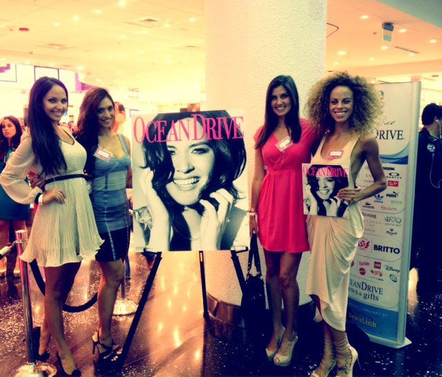 MODEL MACHINE #models for Ocean Drive Magazine Event at MIA INTL Airport