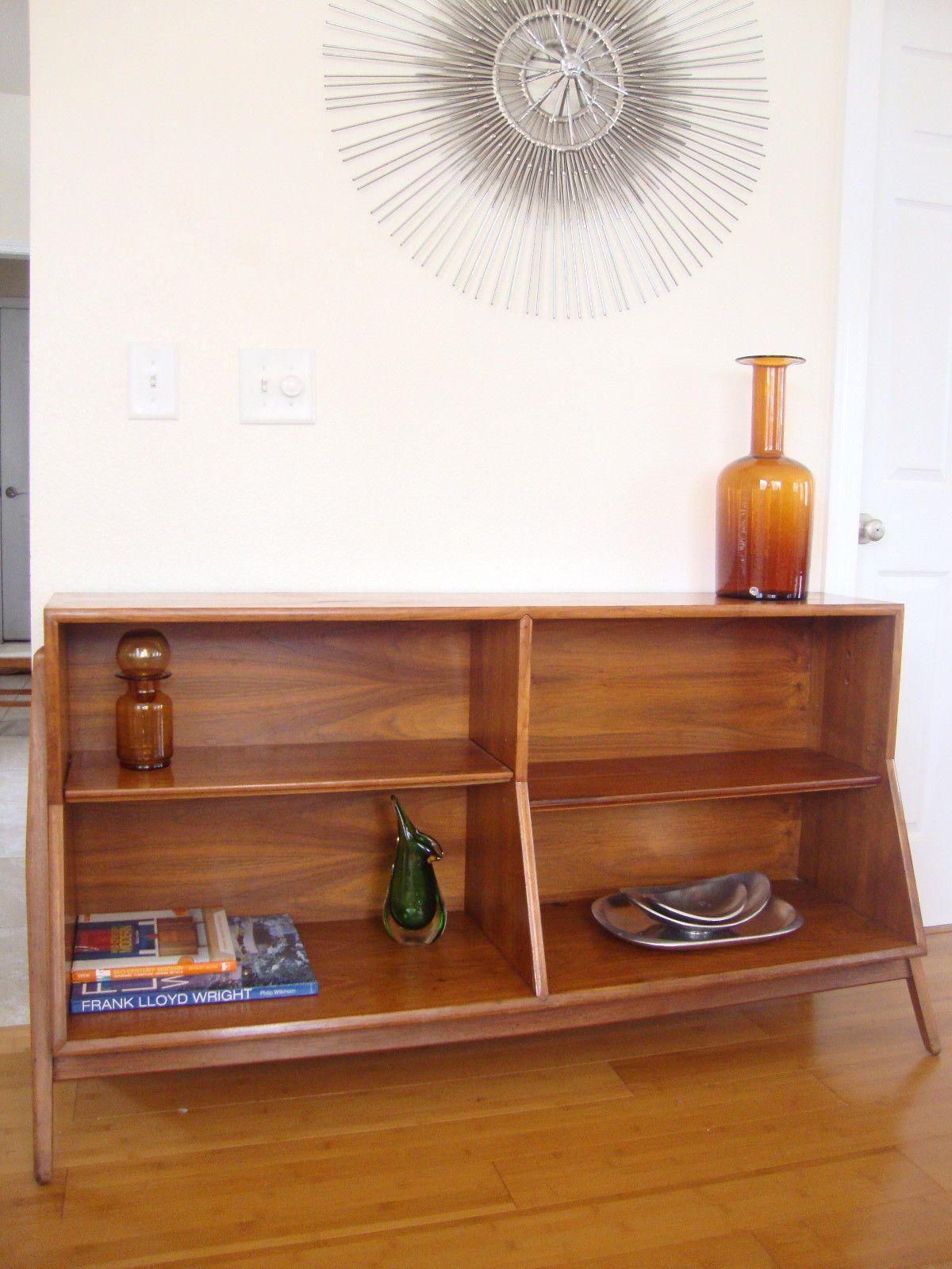 Kipp For Drexel Declaration Mid Century Modern Bookcase Bookshelf
