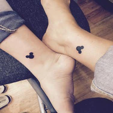 20 Disney Tattoos To Celebrate Your Magical Friendship | Friend ...