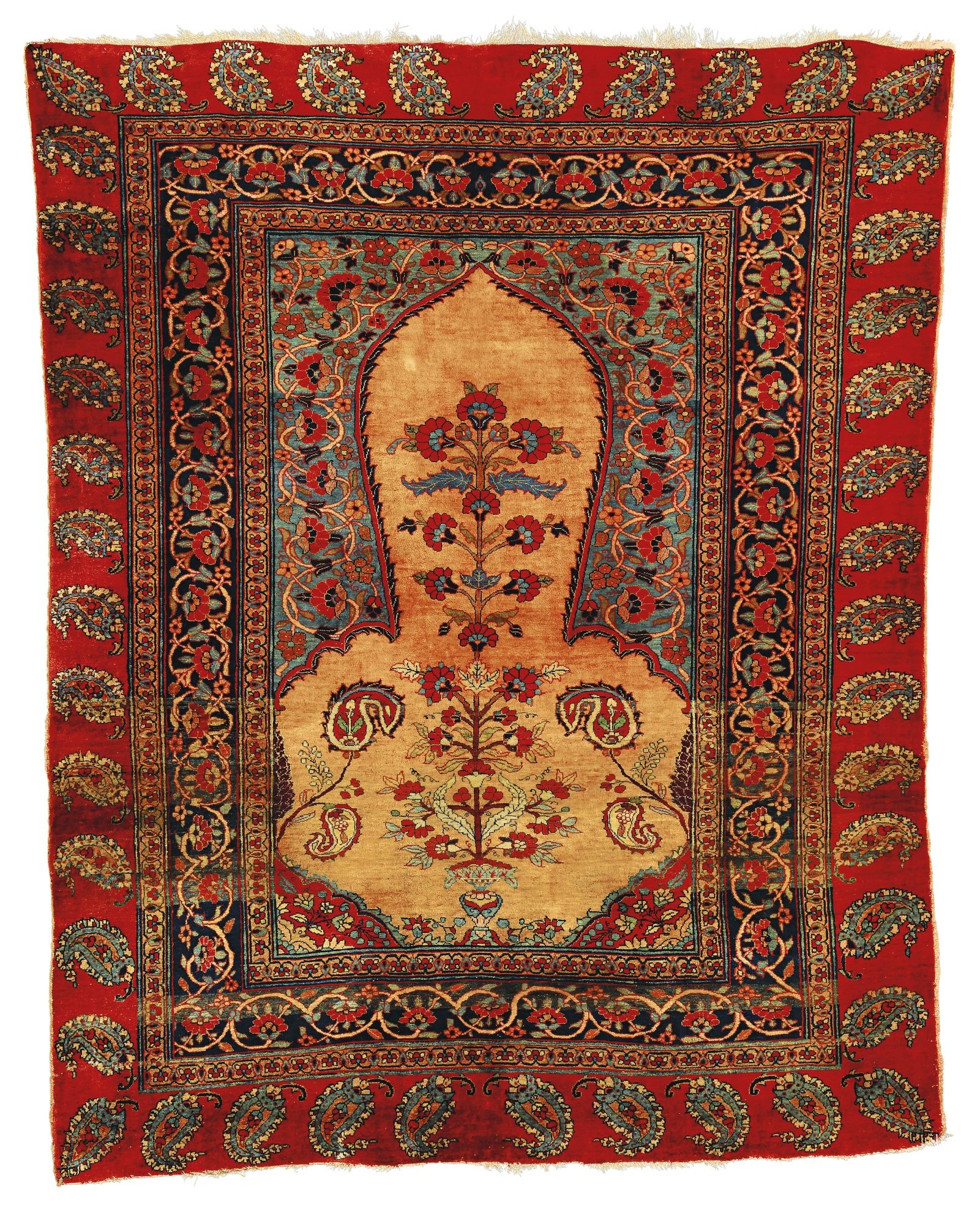 The Gheordez Prayer Rug Was Initially Created: Sotheby's N09323lot7z92cen