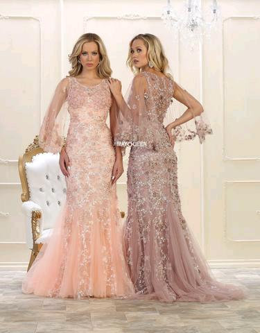 Extravagant lace prom dress RQ 7549 - CLOSEOUT   Prom Dresses ...