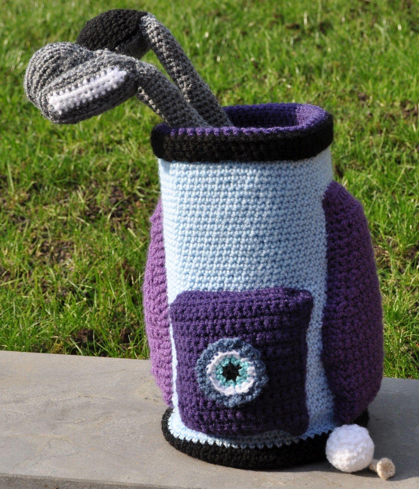 Crochet golf set | My Crochet Projects | Pinterest