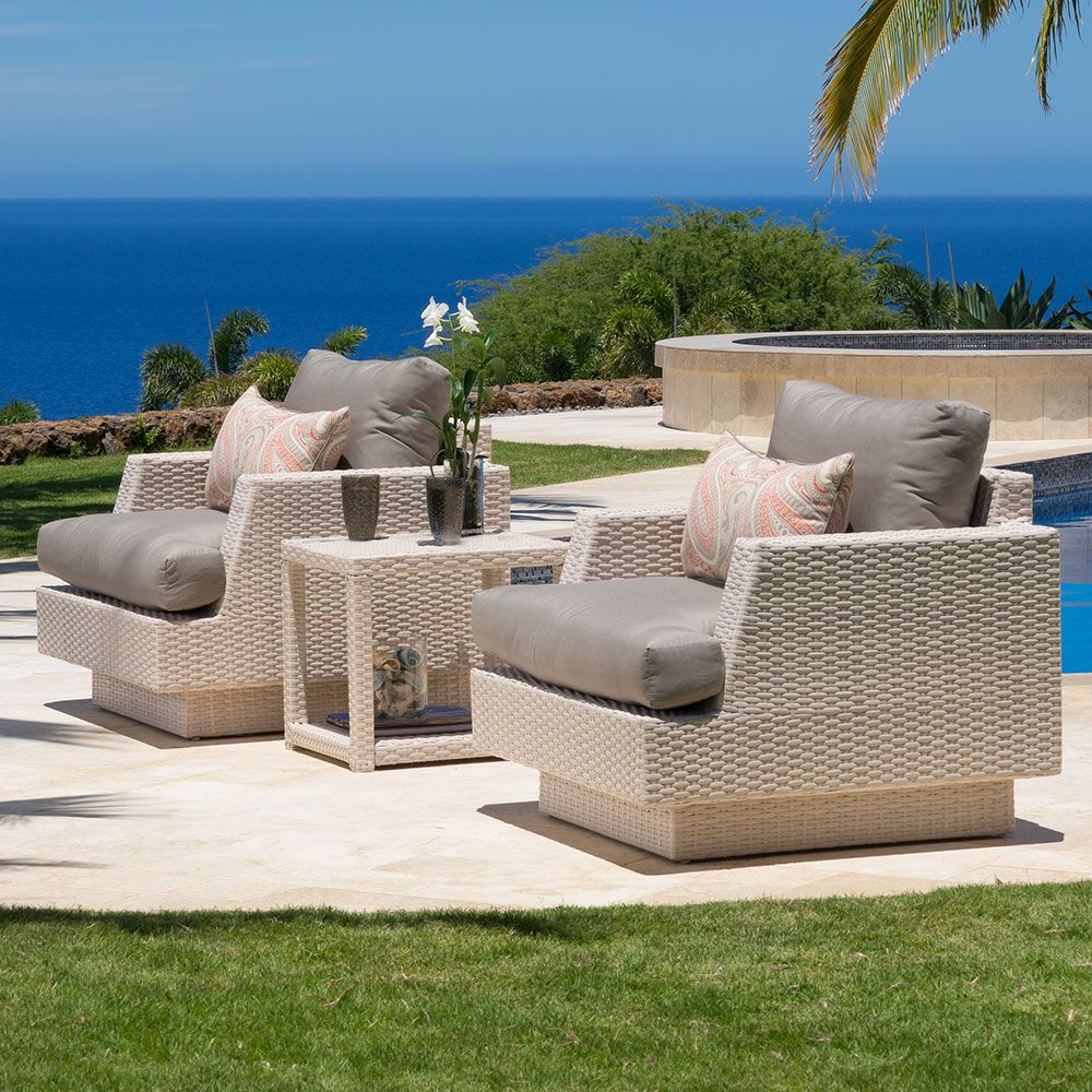 Portofino Comfort Club Chairs Kona Taupe Rst Brands With