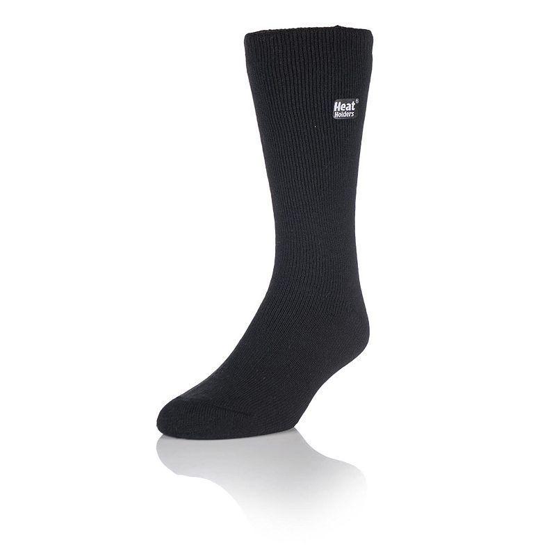 Men's Heat Holders LITE Thermal Crew Socks, Grey (Charcoal)