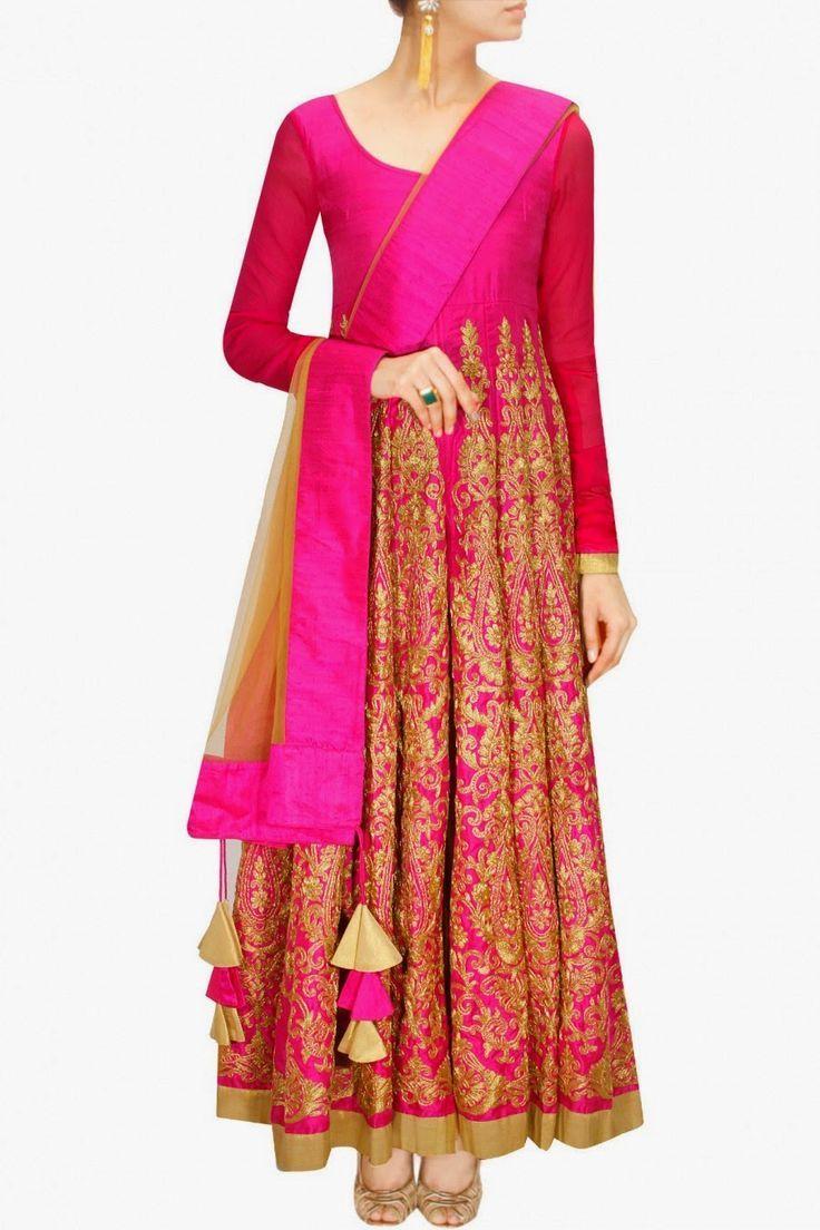 Stylish white dress wedding umbrella frocks churidar designs - Latest Indian Asian Fancy Umbrella Frocks Designs Collection For Girls Women 2015 2016