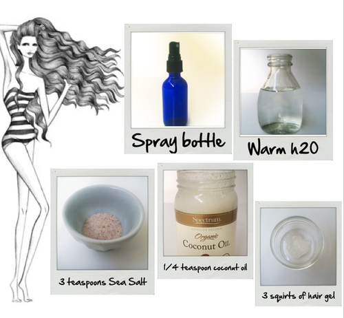 Diy Sea Salt Spray For Beachy Waves Try This Simple Homemade To