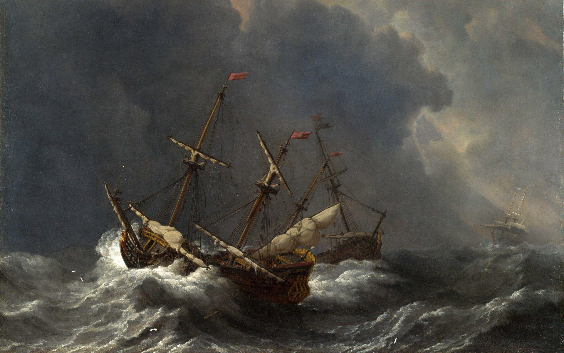 Resultado de imagem para tempestade em alto mar