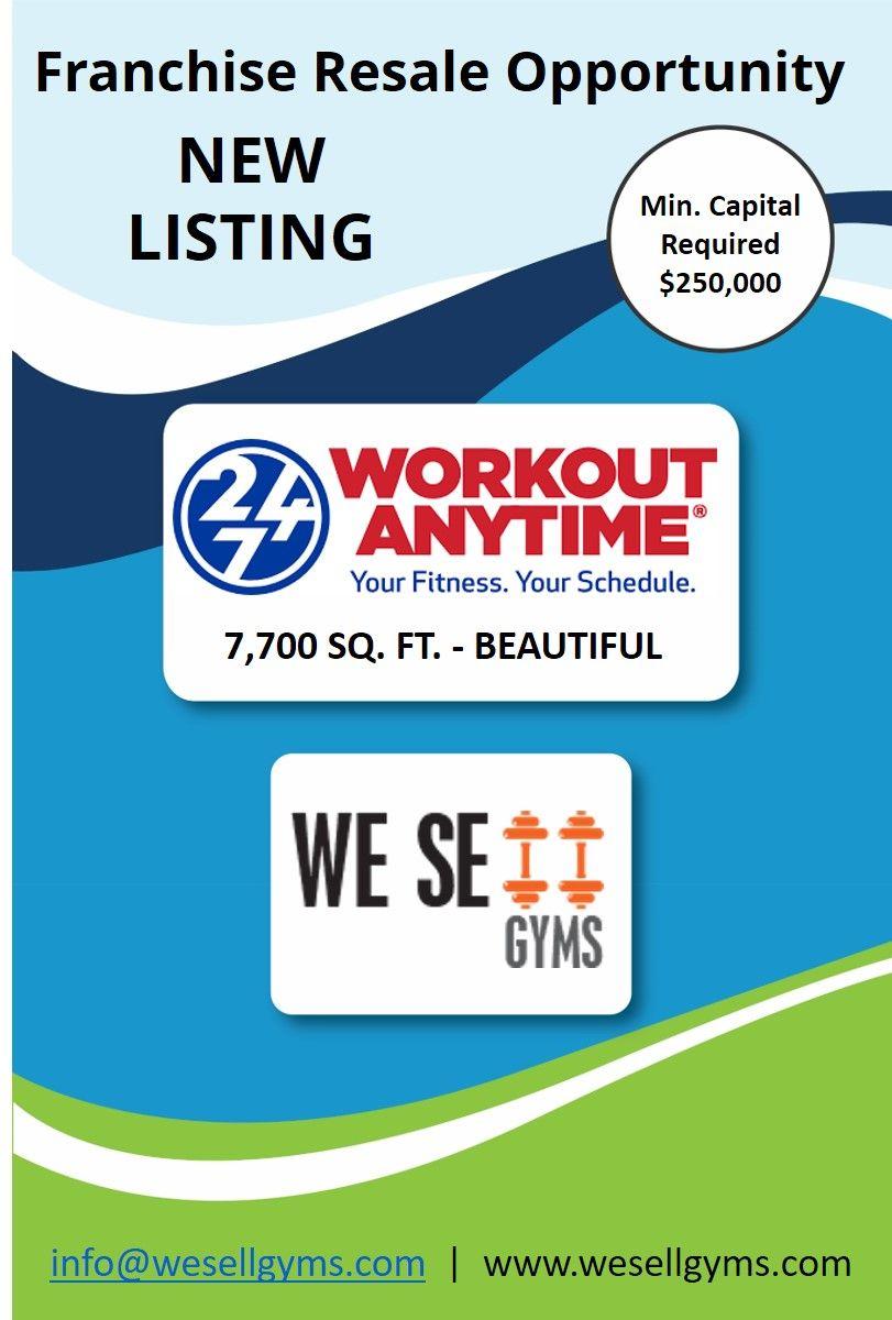 New Fitness Gym Listing TurnKey Beautiful Location