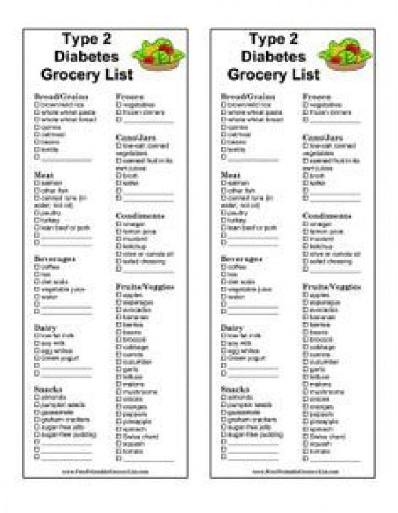 type a diet free printable