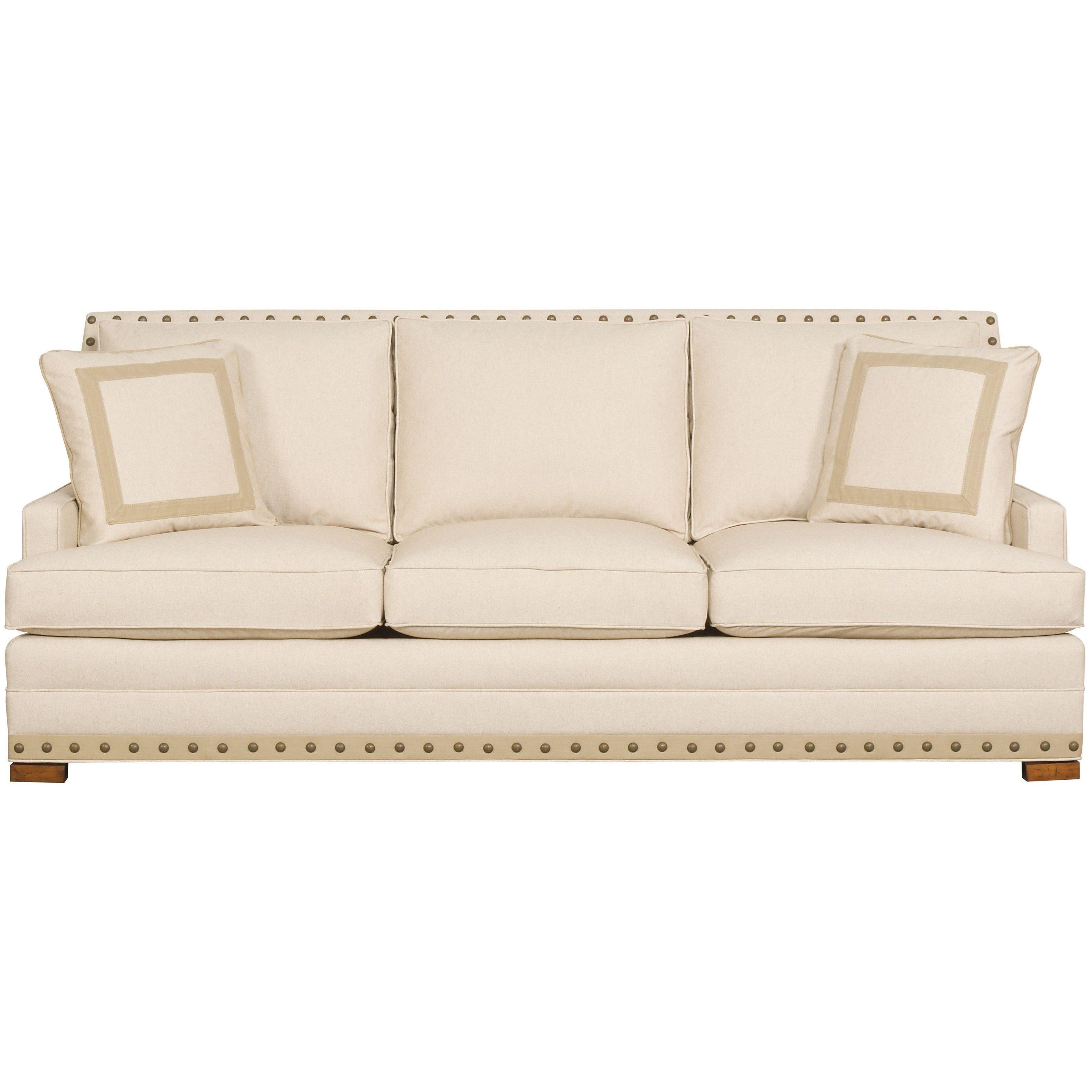 american bungalow riverside 3 seat sofa by vanguard furniture