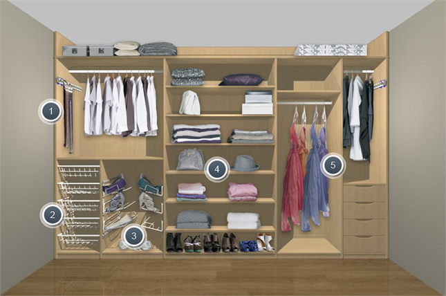 Delightful Wardrobe For Disabled People Or Those With Accessibility Needs