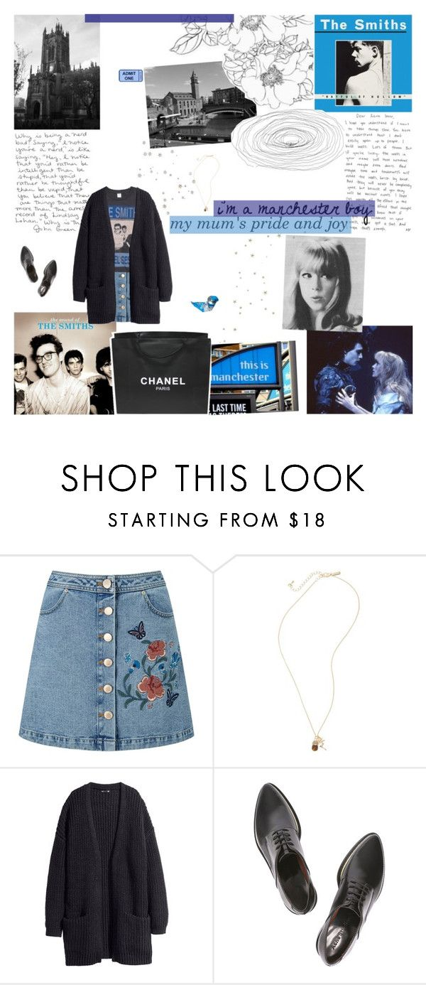"""""""sweet young thing ⚘"""" by propinquitys ❤ liked on Polyvore featuring Chanel, Miss Selfridge, Topshop, H&M, Acne Studios and country"""