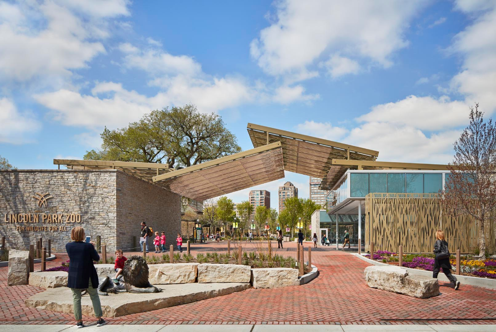 Lincoln Park Zoo Visitors Center Ross Barney Architects Lincoln Park Zoo Zoo Architecture Zoo Park