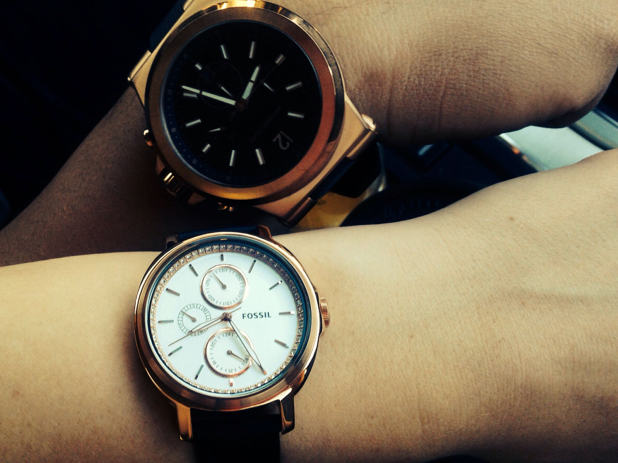 Couples watches MK and Fossil | relationship goals | Pinterest ...