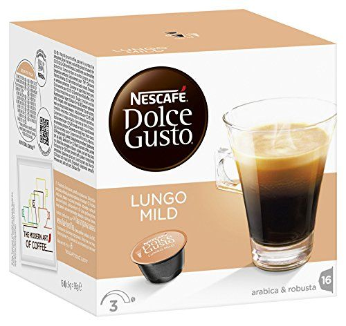 Nescaf Dolce Gusto Caffe Lungo Mild Pack Of 3 3 X 16 Capsules