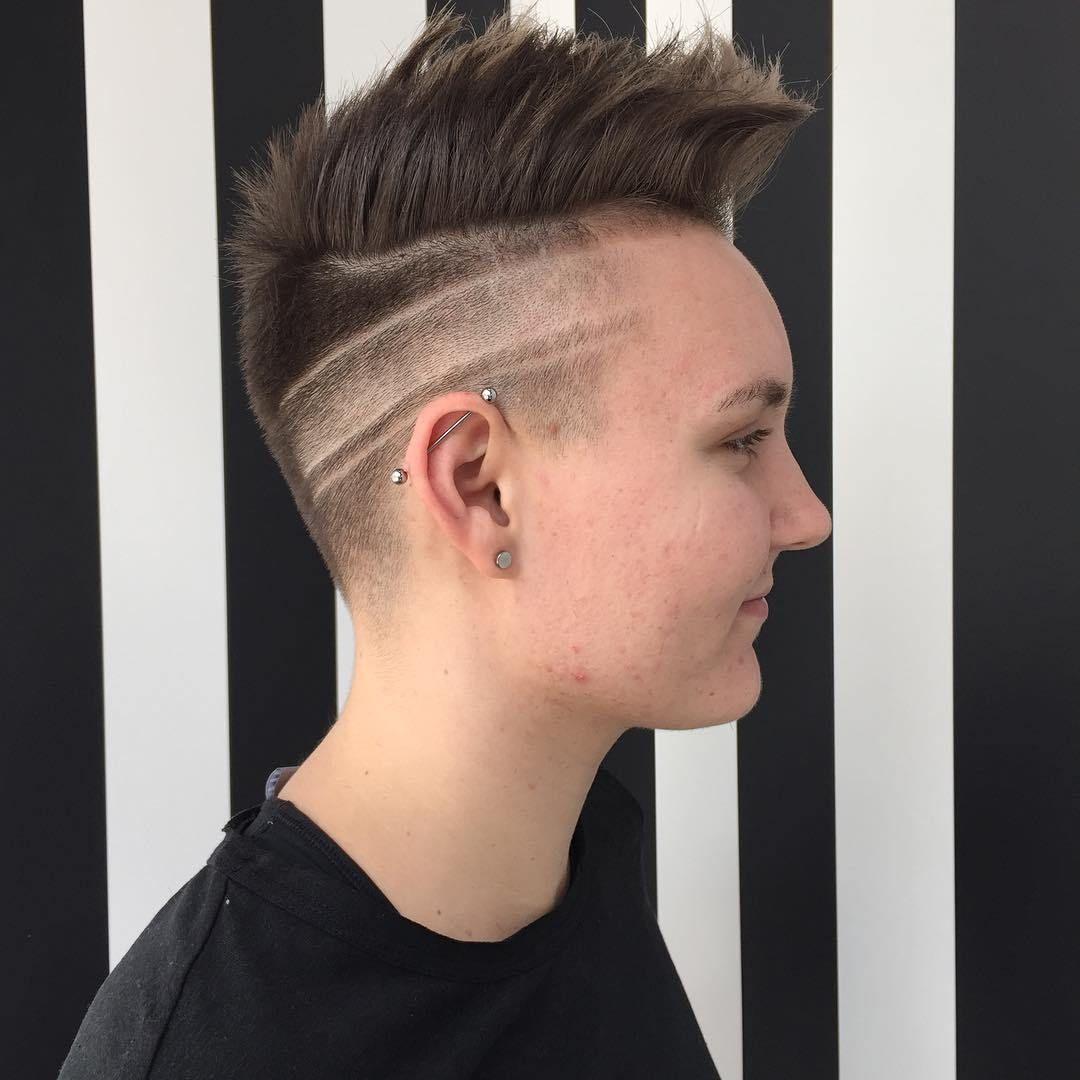 spiky fade design,fade haircut designs fade haircut designs