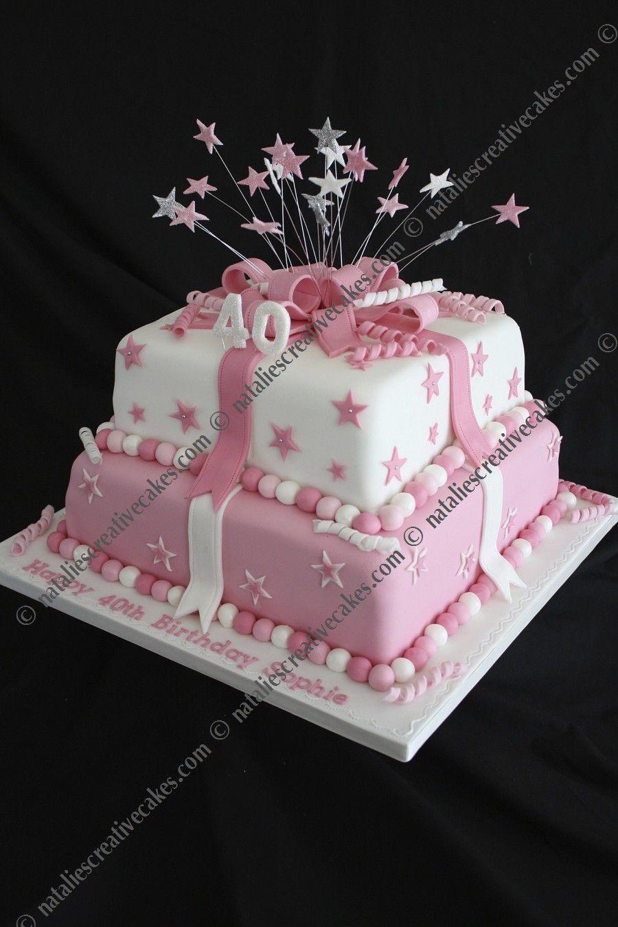 2 tier square birthday cake Google Search Billy birthday