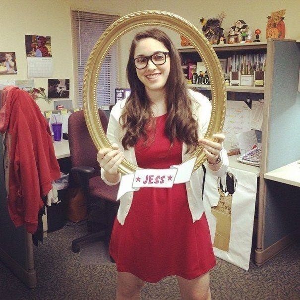 jess from new girl 28 insanely clever halloween costumes you can make yourself - Halloween Costumes That You Can Make Yourself