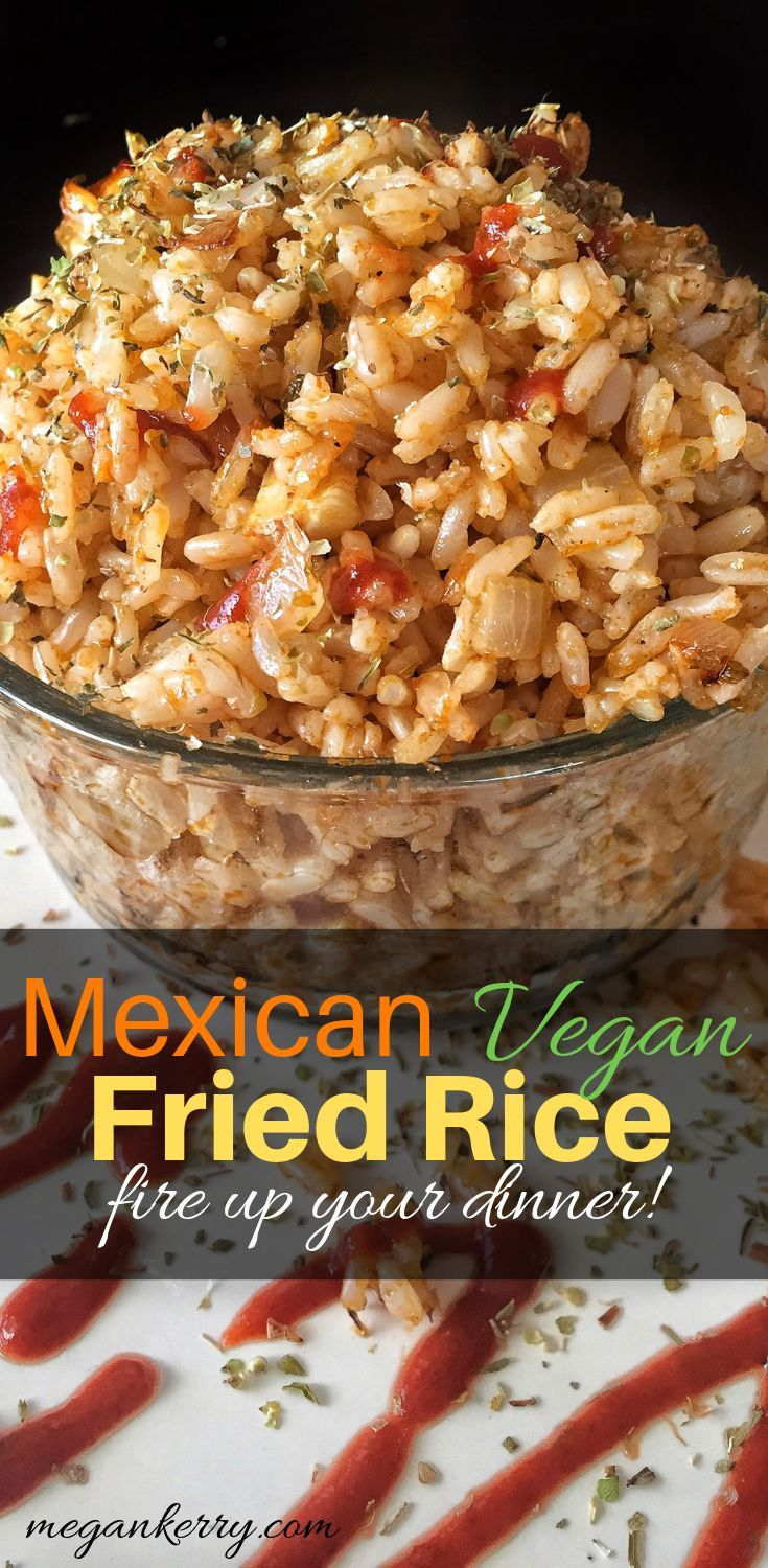 Vegan Mexican Fried Rice