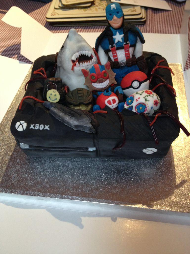 Teenage Skull Birthday Cake Ideas For Boys