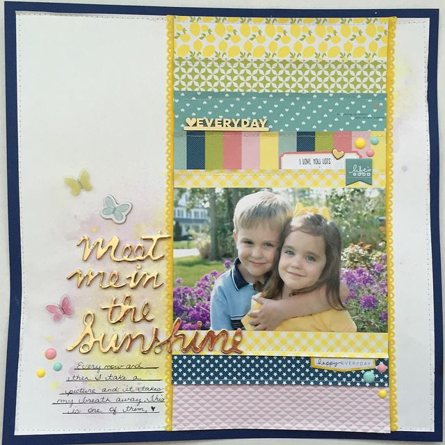 Meet Me in the Sunshine: Hip Kits May 2015 with Pink Paislee Citrus Bliss and Chickaniddy Yippee