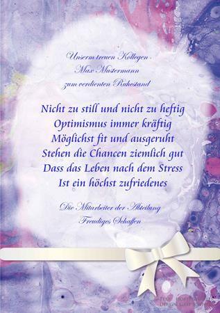 Ruhestandsgeschenk gl ckw nsche pinterest ruhe for Geschenk ruhestand kollege