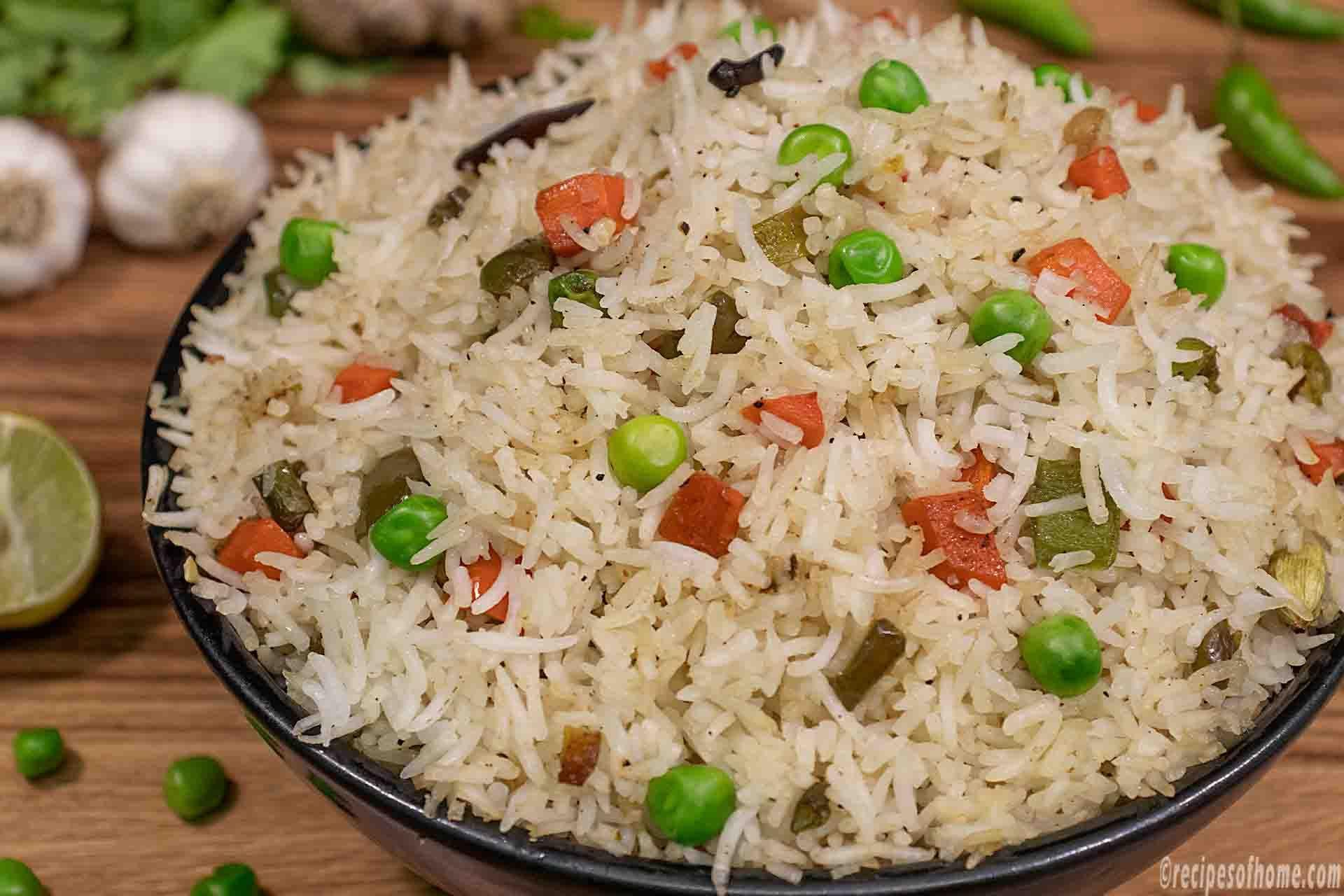 Veg Fried Rice Recipe How To Make Vegetable Fried Rice Recipe Recipe Fried Rice Recipe Fried Rice Fried Rice Easy