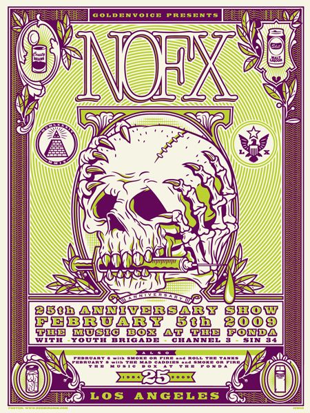 GigPosters.com - Nofx - Youth Brigade - Channel 3 - Sin 34