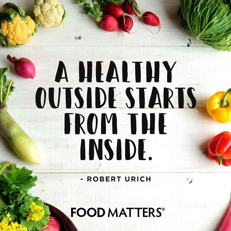 Get the glow from within! www.foodmatters.com #foodmatters ...