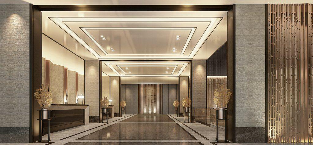 Blink regent xian lobby design hotel interiors hotel for Design hotel xian