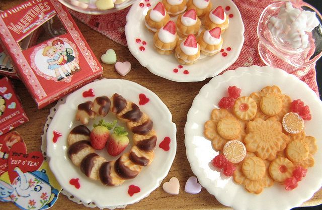 Valentines Day sweets by goddess of chocolate, via Flickr