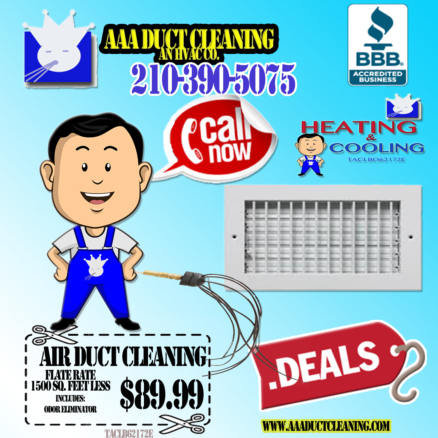 AAA Duct Cleaning Our sponsors San Antonio http