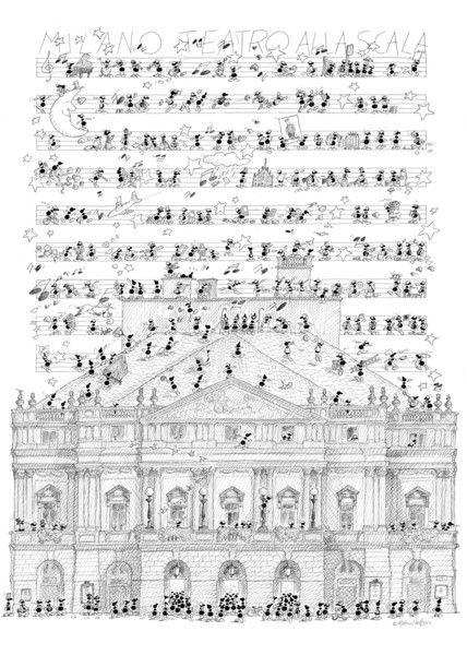 """Puzzle """"Scala di Milano"""". #formiche #puzzle #milano # ..."""