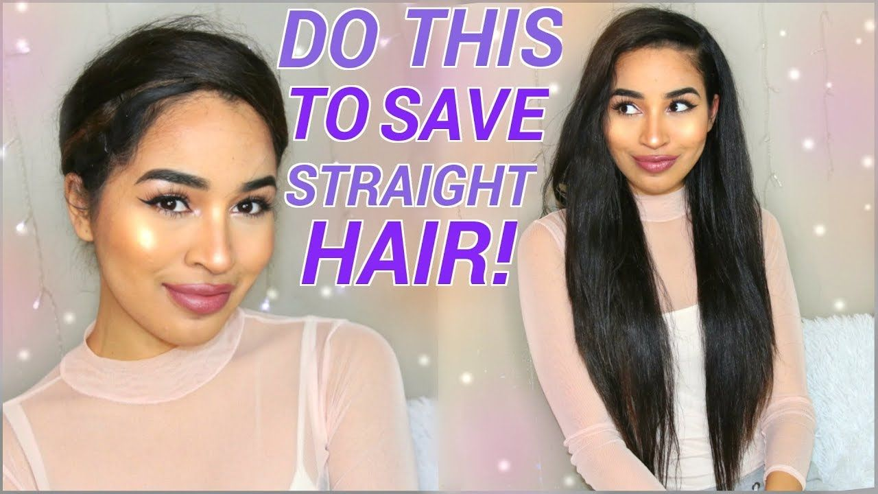 Avoid Heat Damage Make Ur Straight Hair Last Wrap Method For Naturally Curly Hair Youtu Curly Hair Styles Naturally Straight Hairstyles Curly Hair Styles