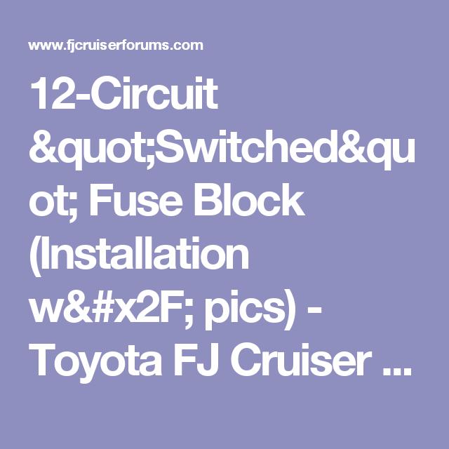 12-Circuit