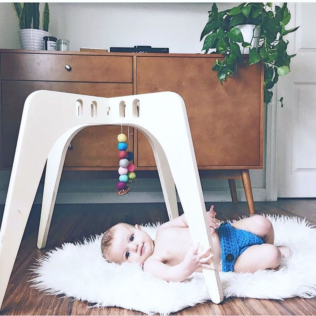 Modern Wooden Baby Gym From Nin June Modern Natural Baby Toys Contemporary Baby Toy Wood Wooden Natural Wooden Baby Gym Natural Baby Toys Baby Gym