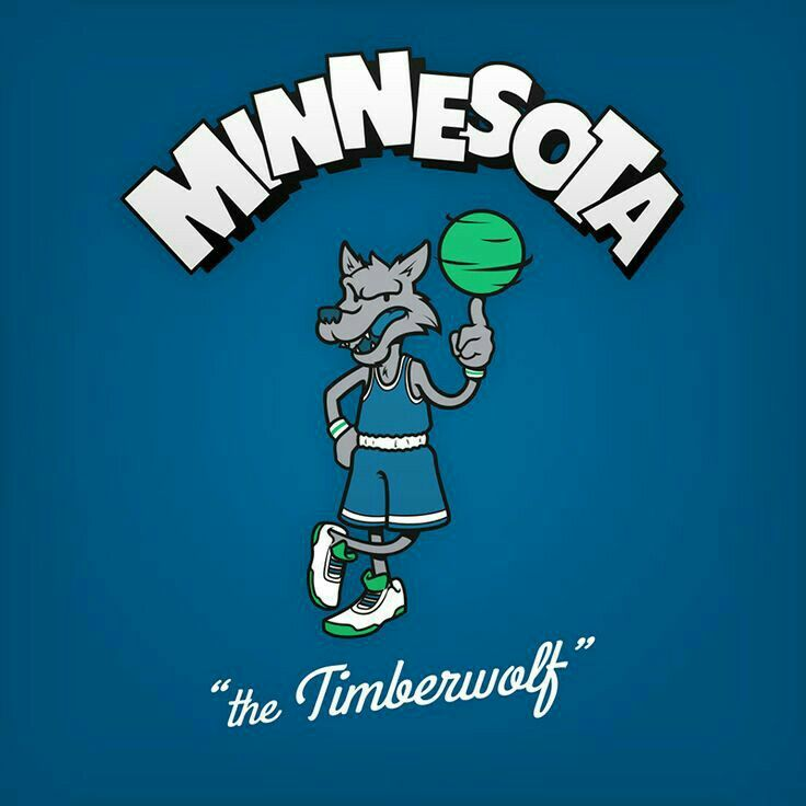 Cartoon Character Logo Minnesota Timberwolves Funny Nba Memes