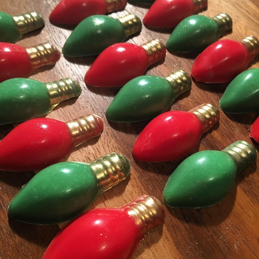 Chocolate Christmas Lights 🎄✨ #Christmas #christmaslights #chocolate #christmasparty #holidays #party #family #food #hoboken #nj #nyc #bergencounty
