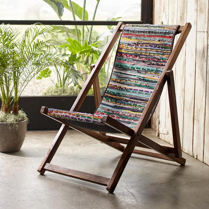 Narendra Sling Chair ~ Hand Crafted By Artisans In India Via Www.worldmarket .