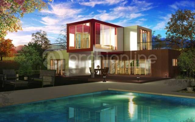 Archionline vous propose une maison container contemporaine d\'une ...