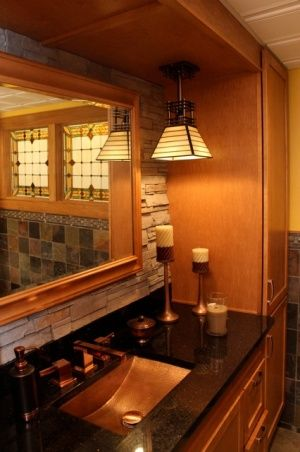Arts and crafts style decorating arts and crafts - Arts and crafts style bathroom design ...