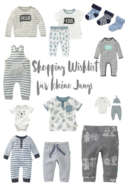 Schöne Kleidung für Babyjungs - Shopping Wishlist für kleine Jungs