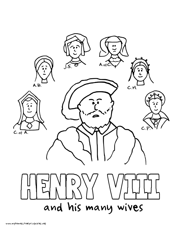 History Coloring Pages Volume 3 Unit 35 Renaissance