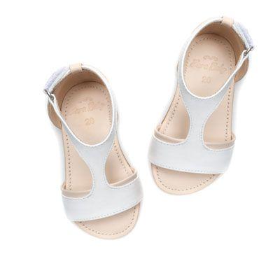 Sandalia Soft Piel Zapatos Bebé Niña Niños Zara España Zapatos Para Niñas Calzado Niños Zapatos Para Bebe Niña