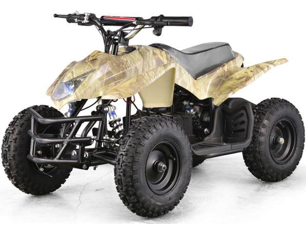 MotoTec 24v Mini Quad Titan v5 Oak Camo